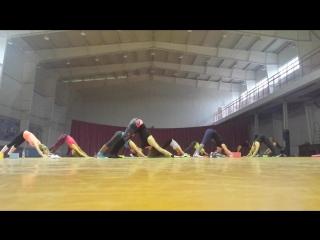 Стретчинг - растяжка (йога) в Катуаре 18 мая 2016г.