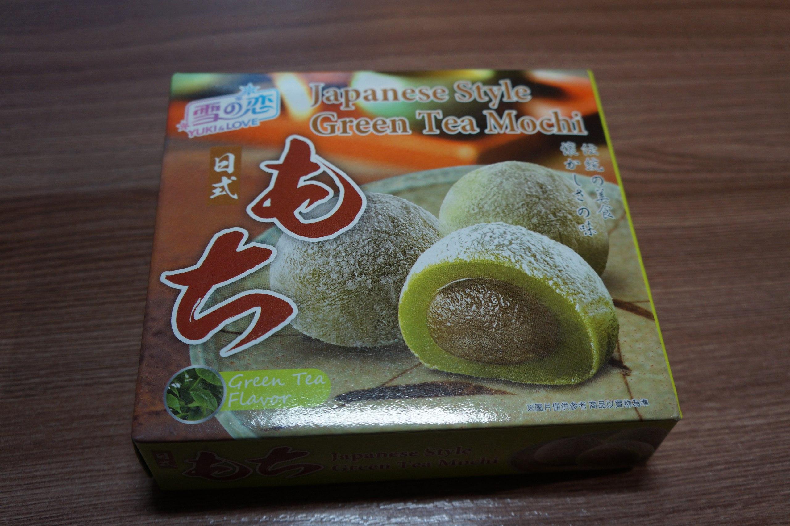 Японский десерт Моти