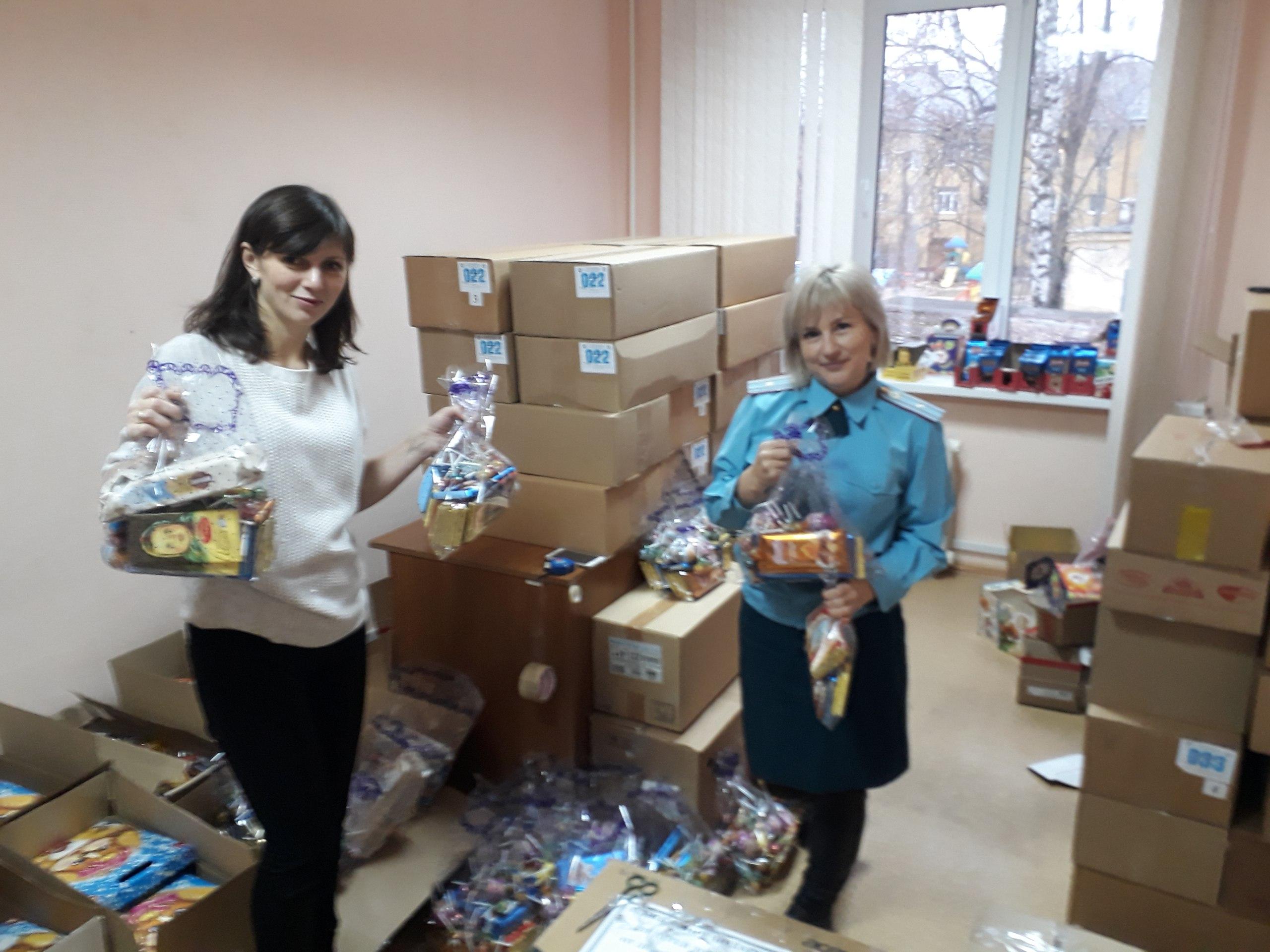 Северная Осетия отправила 2 тонны новогодних подарков детям Донецка иЛуганска
