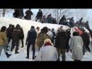 14 01 2018 Славянская зима Захват крепости