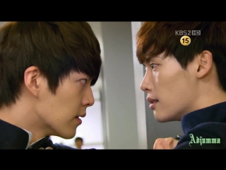 Ли Чон Сок, Ким У Бин - Броманс в Школе 2013 (5) клип