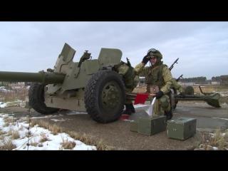 Занятия в 1000-м учебном центре боевого применения РВиА в Коломне