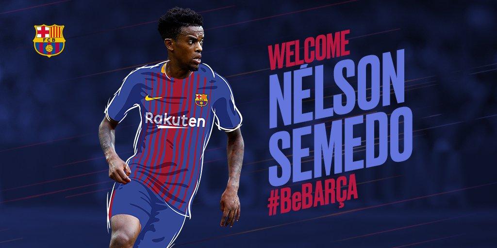 """RASMAN: Nelson Semedo — """"Barcelona""""ning yangi futbolchisi !"""