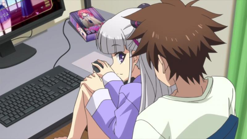 [AniDub] По велению адской сестры / Shinmai Maou no Testament [ТВ 1] [05] 2015 г.