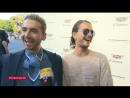 13.07.2017 - VOX Prominent! Tokio Hotel at Letters to Andy Warhol Exhibition