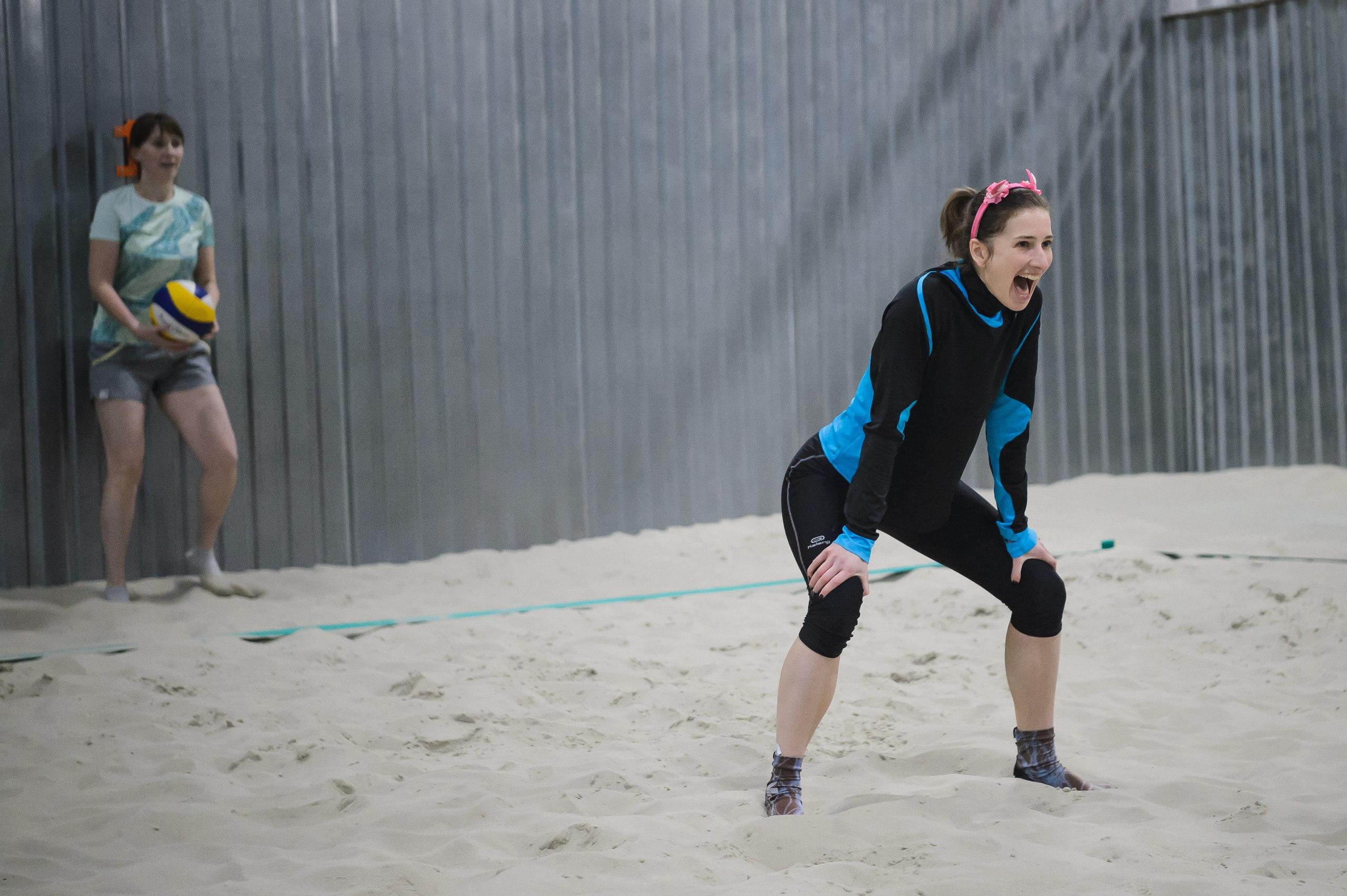 Волейболистка, пляжный волейбол