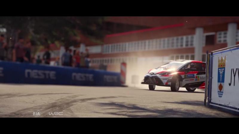 Трейлер всех Toyot в игре WRC 7!