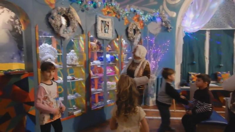 Гостиная Деда Мороза в ТЮЗ Комсомольск на Амуре