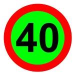 Знаки ограничения скорости хотят размещать на салатовом фоне