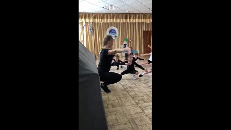 Открытый урок по хореографии Детский сад 160 - старшая группа  Педагог: Афанасьев Екатерина Сергеевна