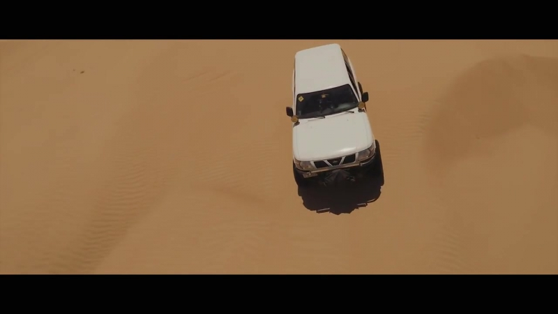 Desert fun drive in a Nissan Patrol -- Knight Riders team
