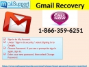 Get The Default Gmail Recovery Process By Dialling 1-866-359-6251