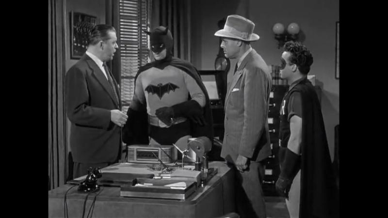 Бэтмен и Робин (1949) 8 серия ( перевод одноголосый)