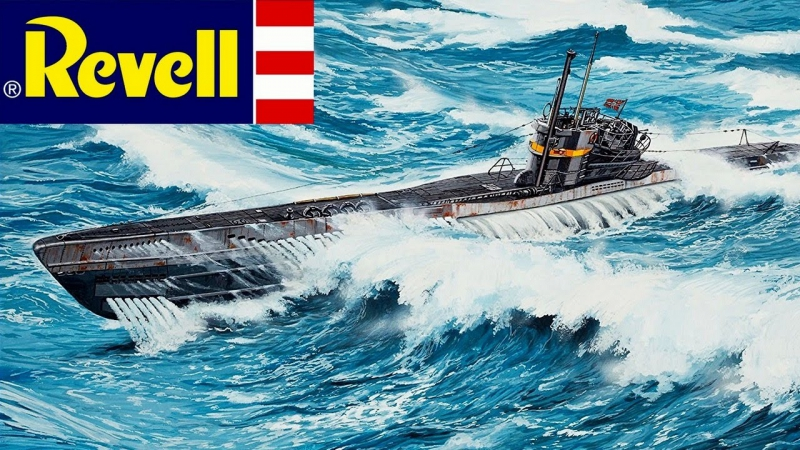 Revell VIIC-41 German submarine