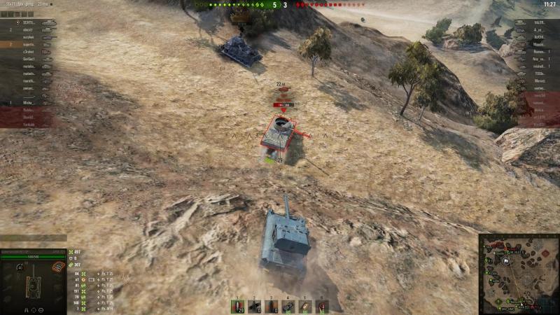 World of Tanks AMX 12t 7 kills , 1579 damage.