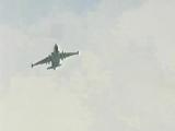 Штурмовики Су-25 ВВС России атакуют грузинскую авиабазу Марнеули. 8 августа 2008 года