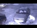 В Волгограде вор-неудачник попал в объективы камер видеонаблюдения