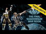 The Final Shadowgun War Room - Highlights
