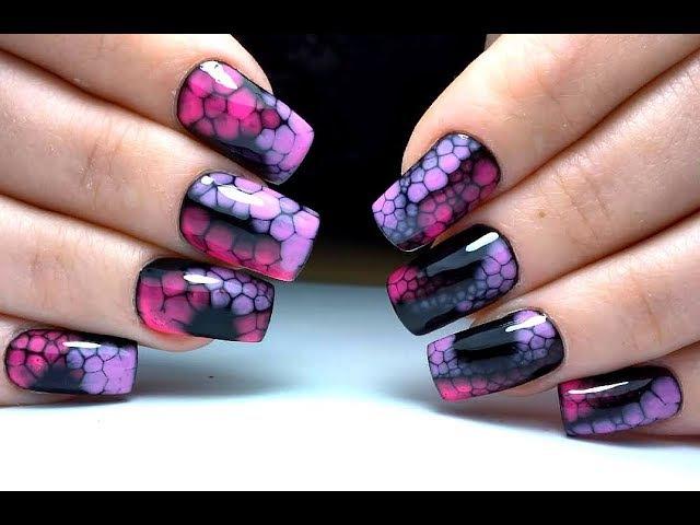 Самый ПРОСТОЙ дизайн и самый Крутой дизайн ногтей по мокрому Egoista ТОП удивителные дизайны ногтей