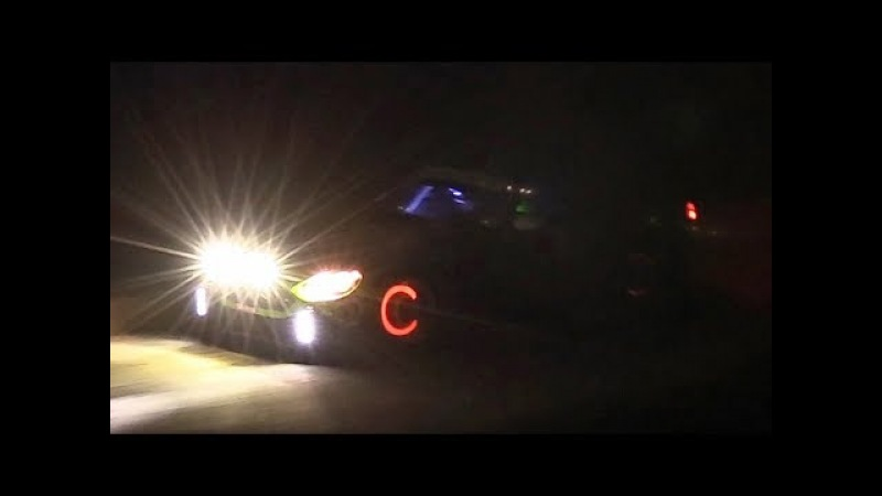 WRC Rallye Monte-Carlo 2018: Thursday Night Stage w/ High Speed Fly Bys Glowing Brakes!