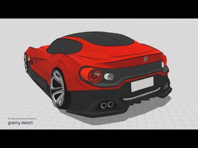 Gravity Sketch VR 1.0 Trailer