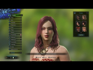 Monster Hunter World Character Creation - Female (PS4 Pro)