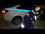 ДПС сбили гражданина и забрызгали газом