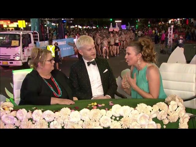 Lucy Lawless 2018 Sydney Gay Lesbian Mardi Gras