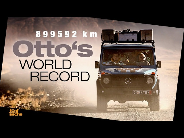 A Night Inside Otto, the G-Class that Travelled the World (German)
