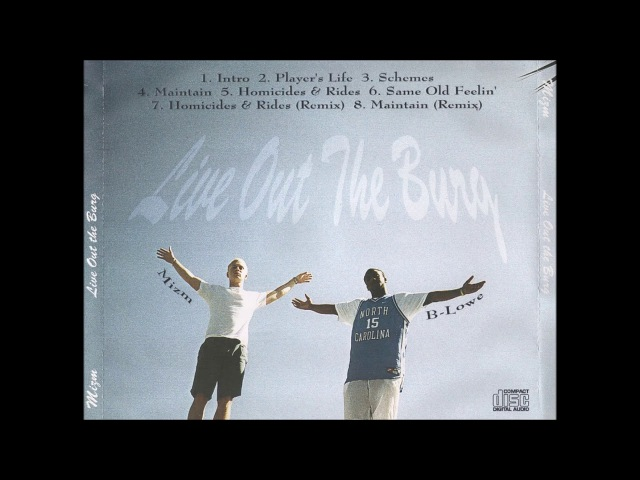 Mizm feat. B-Lowe - Homicides Rides 1996 FL G-Funk