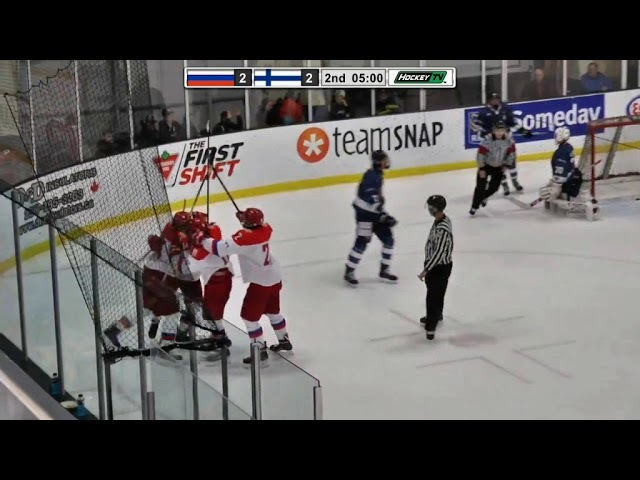 Nov 10, 2017 WHC-17: Finland 4-5 Russia