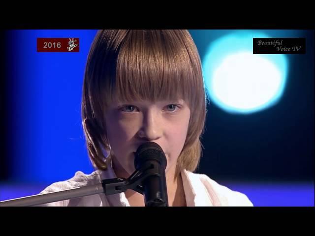 Hallelujah(Russian).The Voice Kids Russia 2016.ArtemJuliaMarselXenia.