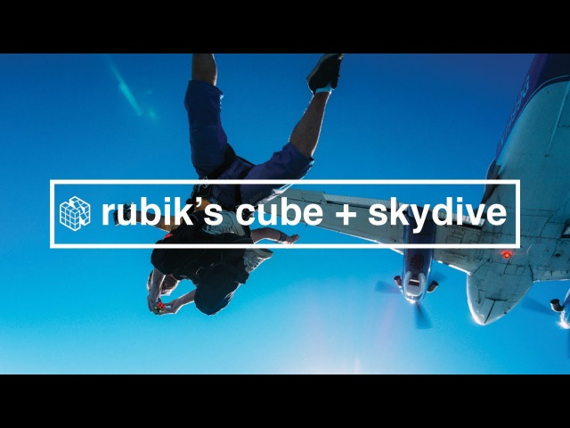 How to Solve a Rubik's Cube while Skydiving