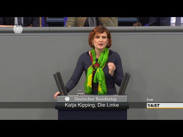 Katja Kipping, DIE LINKE: Nein zum Krieg der Türkei in Syrien