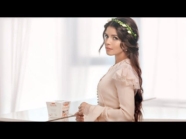 Христина Соловій в рекламі Raffaello (backstage відео)