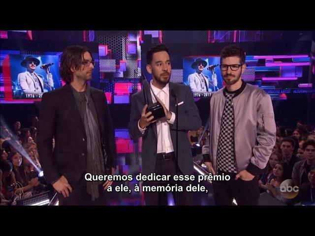 American music awards 2017 Linkin Park Artista Alternativo AMAs 2017 MakeChesterProud