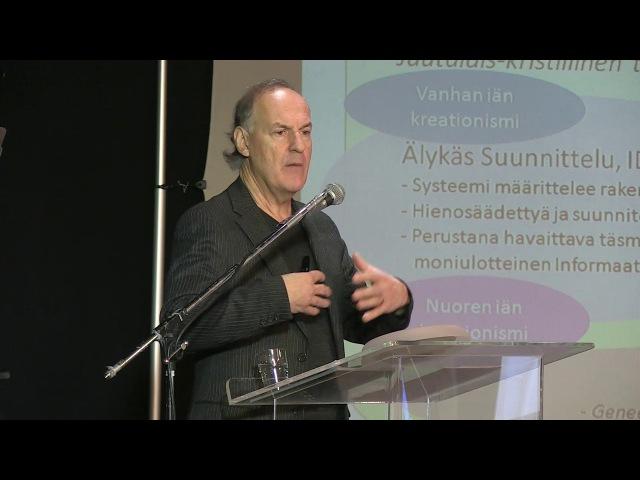 Usko ja tiede -foorumi 2017 | Martin Stenberg Informaation ja älykkyyden merkitys ja alkuperä
