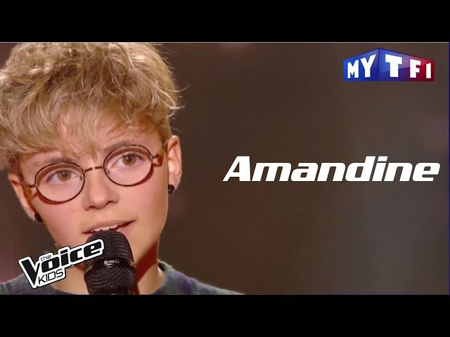 Amandine - Skinny love (Birdy) | The Voice Kids France 2017 | Blind Audition