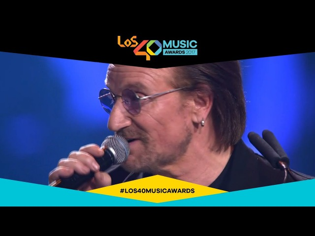 U2, premio a la gira del año | LOS40 Music Awards 2017