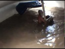 Homeless Man Makes An Awesome Wave Pool In a Water Tank