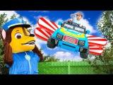 BAD BABY Вредные детки Летающая машина Щенячий патруль Видео для детей Power Wheels ride on fl...
