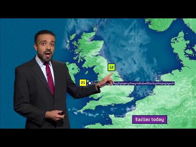 Liam Dutton nails pronouncing Llanfairpwllgwyngyllgogerychwyrndrobwllllantysiliogogogoch