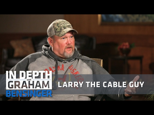 Larry the Cable Guy: My fake southern accent