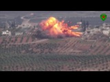 Direct ATGM hit: Kurdish female fighters destroy invading Turkish Leopard 2 tank in Afrin region
