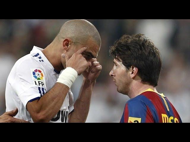 Las Mejores Peleas y Patadas de Pepe ( Real Madrid ) !