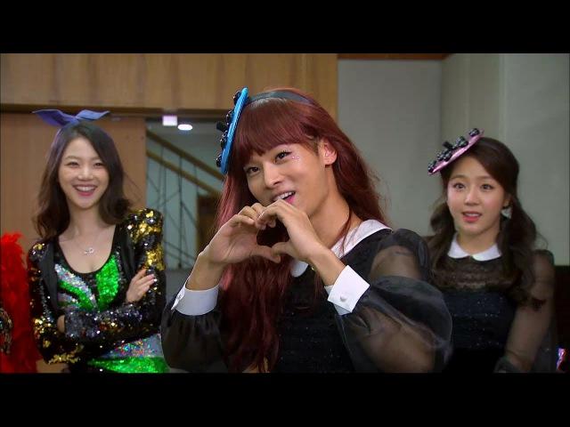 【TVPP】N(VIXX) - Dress up as an Orange Caramel, 엔(빅스) - 오렌지 캬라멜로 변신 @ Hotel King