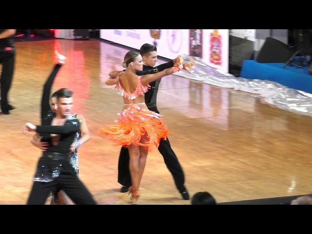 Vladislav Untu Polina Baryshnikova | Pasodoble | WDSF World Championship Youth 10 Dance - Semifina