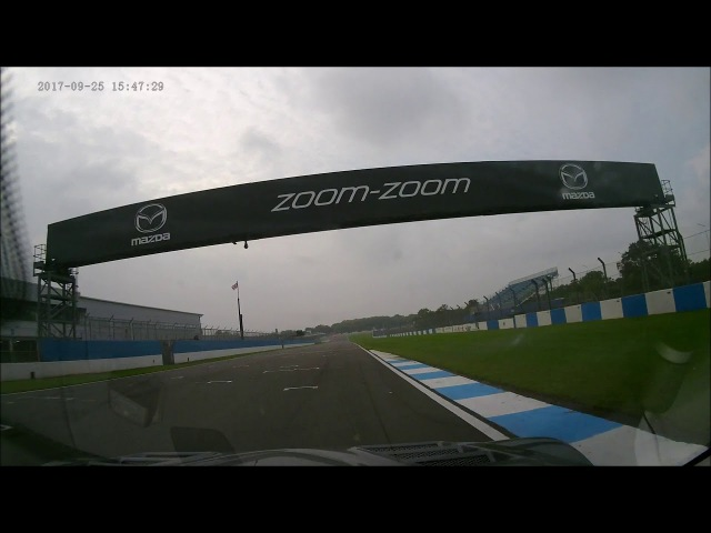 Donington Park Trackday in a Mazda RX-8: 25 Sept 2017 (PM)