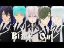 【MMD刀剣乱舞】Black Out【三・一・鶴・鶯・江】