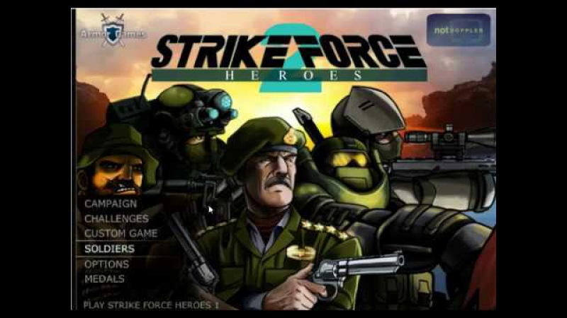 Герои ударного отряда 2 (Strike Force Heroes 2) №8
